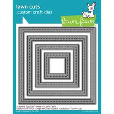 Lawn Cuts - Stitched Square FRAMES - DIE