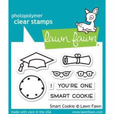 Lawn Fawn Clear Stamps - Smark Cookie