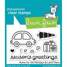 Lawn Fawn Clear Stamps - Home for the Holidays