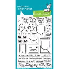 Lawn Fawn Clear Stamps - Love Letters