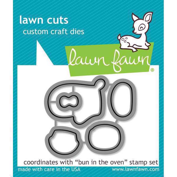Lawn Cuts - Bun in the Oven - DIES