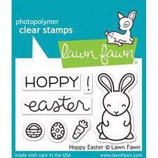 Lawn Fawn Clear Stamps - Hoppy Easter