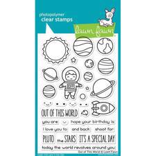 Lawn Fawn Clear Stamps - Out of this World