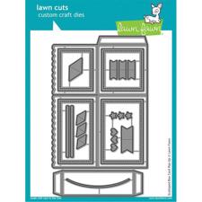 Lawn Cuts - Scalloped Box Card Pop-Up  DIES