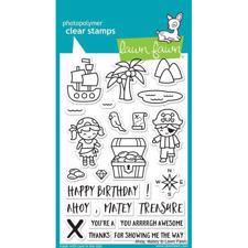 Lawn Fawn Clear Stamps - Ahoy Matey
