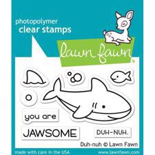 Lawn Fawn Clear Stamps - Duh-nuh (haj)