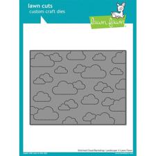Lawn Cuts - Stitched Cloud Backdrop / Landscape (DIE)