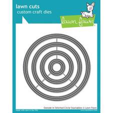 Lawn Cuts - Outside In Stitched Circle Stackables (DIES)