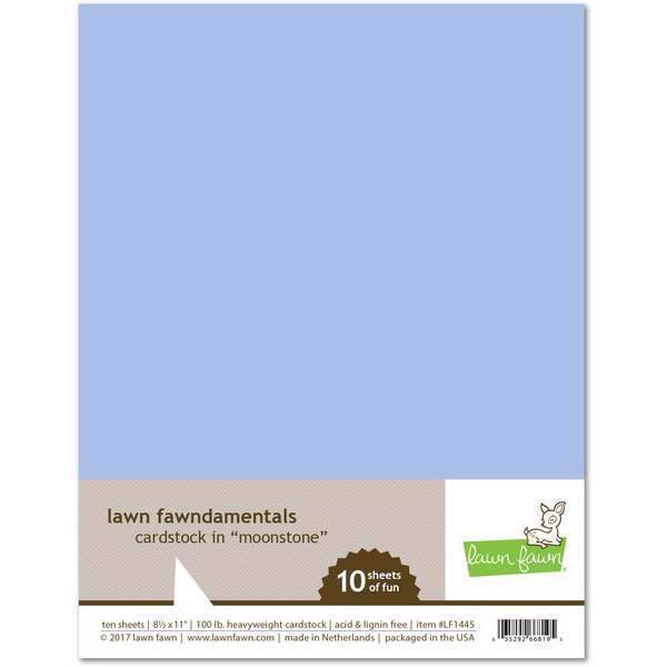 Lawn Fawn Cardstock - Moonstone