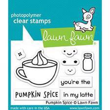 Lawn Fawn Clear Stamps - Pumpkin Spice (kop)