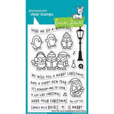 Lawn Fawn Clear Stamps - Here we go A-Waddling