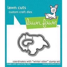 Lawn Cuts - Winter Otter - DIES