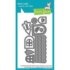 Lawn Cuts - Scalloped Treat Box / Winter House Add-On - DIES