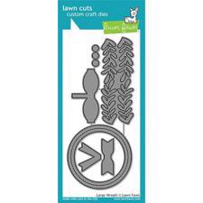 Lawn Cuts - Large Wreath - DIES