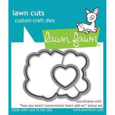 Lawn Cuts - How you Bean? Conversation Heart Add-On - DIES