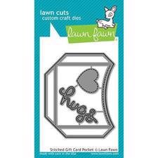Lawn Cuts - Stitched Gift Card Pocket - DIES