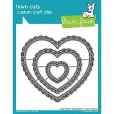 Lawn Cuts - Lacy Heart Stackables - DIES