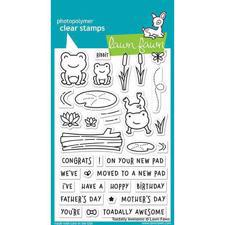Lawn Fawn Clear Stamps - Toadally Awesome