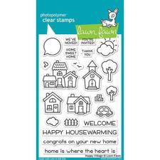 Lawn Fawn Clear Stamps - Happy Village