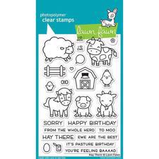 Lawn Fawn Clear Stamps - Hay There
