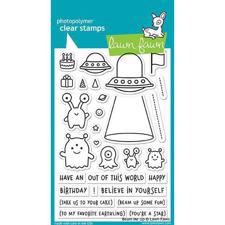 Lawn Fawn Clear Stamps - Beam Me Up