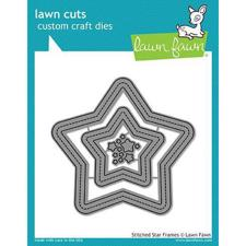 Lawn Cuts - Stitched Star Frames - DIES