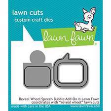 Lawn Cuts - Reveal Wheel Speech Bubble Add-On - DIES