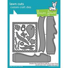 Lawn Cuts - Shadow Box Card Ocean Add-On - DIES