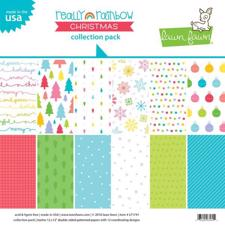 "Lawn Fawn Collection Pack 12x12"" - Really Rainbow CHRISTMAS"
