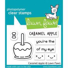 Lawn Fawn Clear Stamps - Caramel Apple