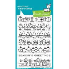 Lawn Fawn Clear Stamps - Simply Celebrate Winter