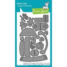 Lawn Cuts - Woodland Critter Huggers WINTER Add-On- DIES