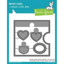 Lawn Cuts - Reveal Wheel SQUARE Add-On - DIES