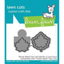 Lawn Cuts - Reveal Wheel Fall LEAF Add-On - DIES