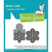 Lawn Cuts - Reveal Wheel Snowflake Add-On - DIES