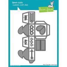 Lawn Cuts - Heart Treat Box - DIES