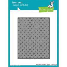 Lawn Cuts - Polka Heart Backdrop / Portrait - DIES