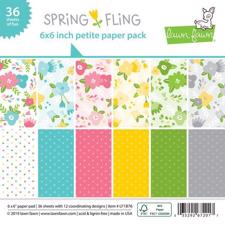 "Lawn Fawn Paper Pad 6x6"" - Spring Fling"