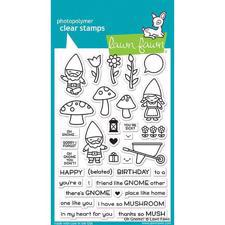 Lawn Fawn Clear Stamps - Oh Gnome