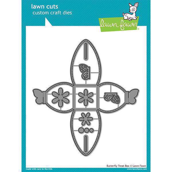 Lawn Cuts - Butterfly Treat Box - DIES