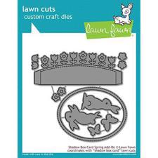 Lawn Cuts - Shadow Box Card Spring Add-On - DIES
