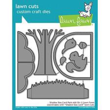Lawn Cuts - Shadow Box Card Park Add-On - DIES