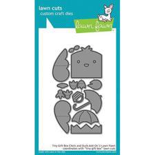 Lawn Cuts - Tiny Gift Box Chick & Duck Add-On - DIES