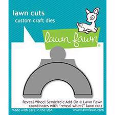 Lawn Cuts - Reveal Wheel Semicircle Add-On - DIES