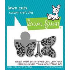 Lawn Cuts - Reveal Wheel Butterfly Add-On - DIES