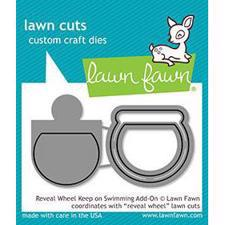 Lawn Cuts - Reveal Wheel Keep on Swimming Add-On - DIES