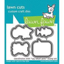 Lawn Cuts - Say What? Pets - DIES