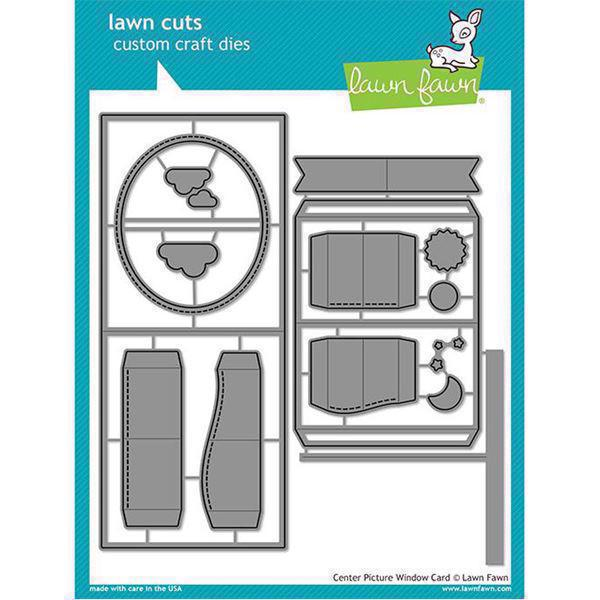 Lawn Cuts - Center Picture Window - DIES