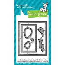 Lawn Cuts - Center Picture Window Card Add-On - DIES