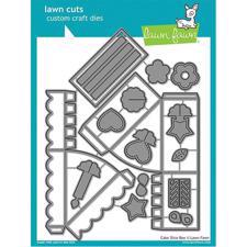 Lawn Cuts - Cake Slice Box - DIES